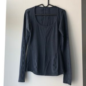 Lululemon Long Sleeve_inkwell color